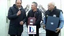 Fabio Poli premiato a Piazza della Libertà
