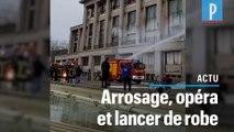 Avocats, pompiers et choristes : leurs manifestations insolites