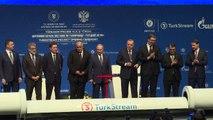 Erdogan y Putin inauguran gasoducto y reclaman rebaja de tensiones entre Irán y EEUU