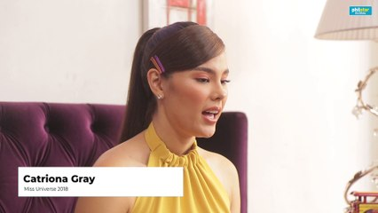 Catriona Gray on joining a noontime show