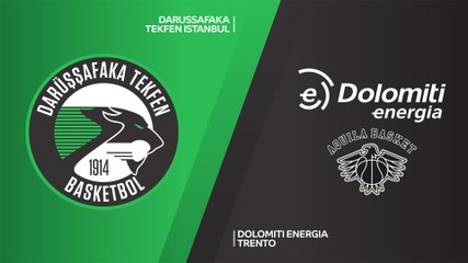 7Days EuroCup Highlights Top 16, Round 1: Darussafaka 73-69 Trento