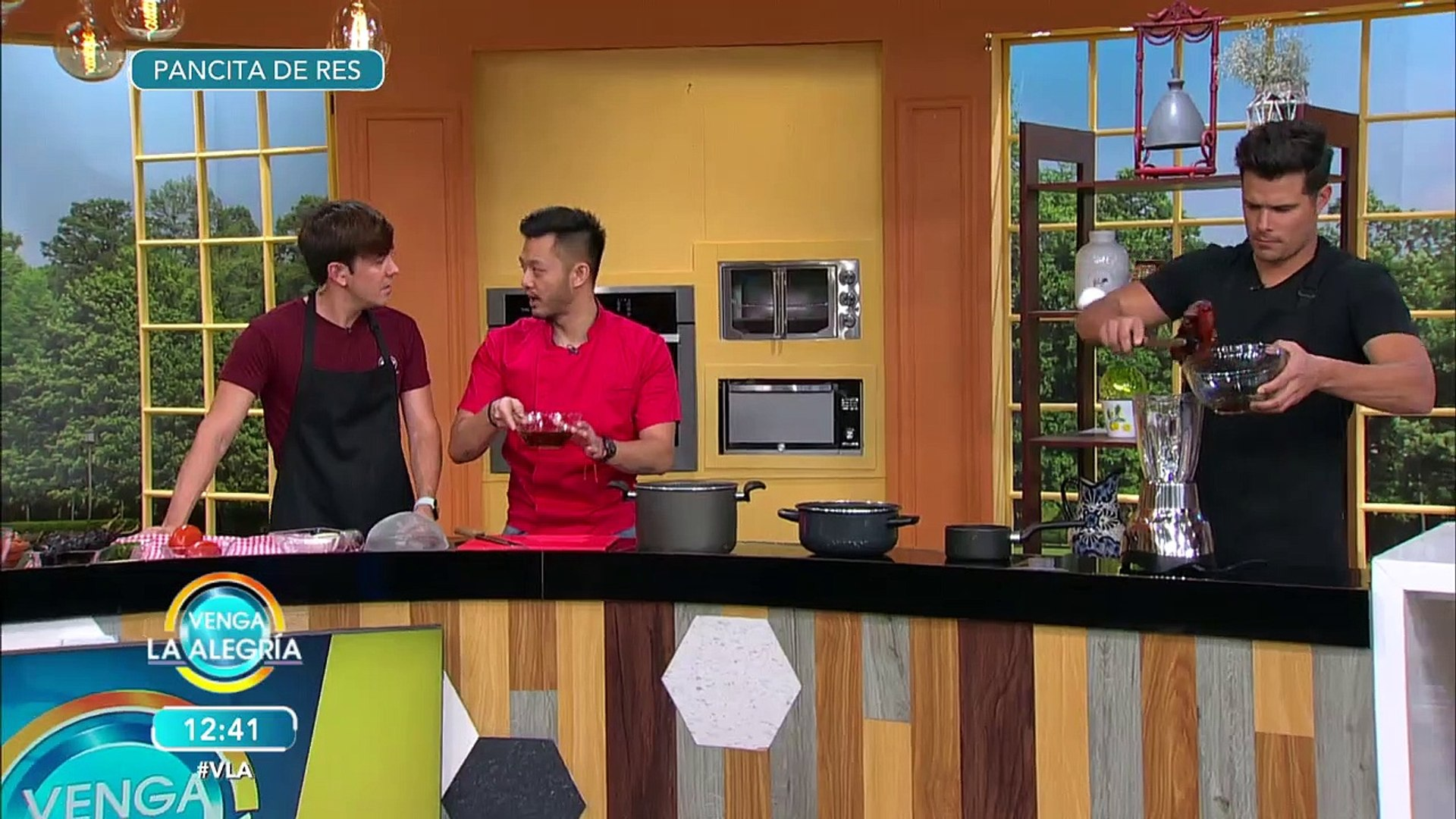 ¡Aprende a preparar una Pancita de res con la receta especial de 'El Chino'! | Venga La Al