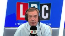 Nigel Farage's instant reaction to Prince Harry and Meghan's news
