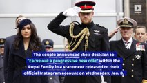 Prince Harry and Meghan Markle to 'Step Back' as Senior Royals
