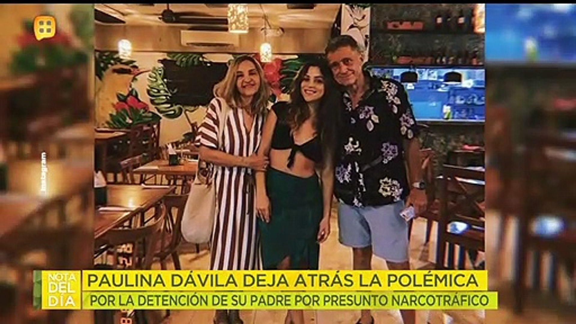¡Paulina Dávila se niega a hablar de la detención de su padre por supuesto narcotráfico!|Ventaneando