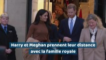Harry et Meghan prennent leur distance avec la famille royale