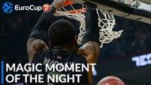7DAYS Magic Moment of the Night: William Mosley, Partizan NIS Belgrade