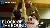 7DAYS EuroCup Block of the Round: Wilfried Yeguete, AS Monaco