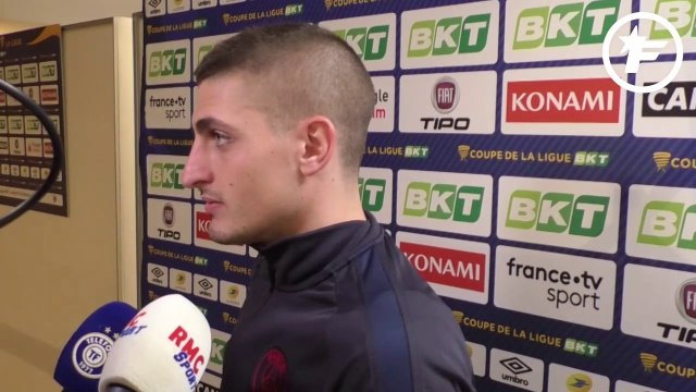 La réaction de Marco Verratti