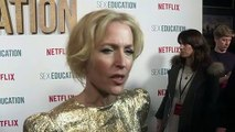 Gillian Anderson has a WHAT in her house?!