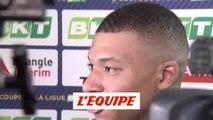Mbappé «Il y a eu une prise de conscience» - Foot - C. Ligue - PSG