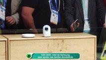 CES 2020, robô da Samsung quer ajudar nas tarefas domésticas