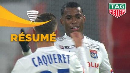 Olympique Lyonnais - Stade Brestois 29 (3-1)  - (1/4 de finale) - Résumé - (OL-BREST) / 2019-20
