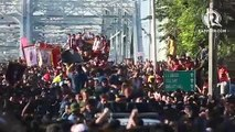 Nazareno 2020: The Black Nazarene crosses the Ayala Bridge