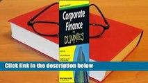 Corporate Finance for Dummies  Best Sellers Rank : #3