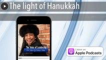 The light of Hanukkah