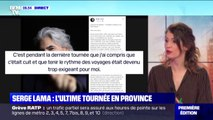 "La prochaine tournée de Serge Lama sera une ""tournée d'adieu à la province"""