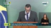 Bolsonaro cancela su participación en el foro de Davos