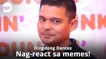 "Dingdong Dantes reacts to ""Dingdong Memes"" | PEP Uncut"