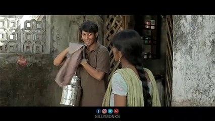 Shiva giving camera to Raju secretly _ Minugurulu Telugu Movie _ Ashish, Suhasini