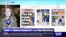 """""""Mexgit"""", """"couple maladroit"""", """"enfantin""""... La presse britannique s'insurge qu'Harry et Meghan renoncent à la fonction royale"""