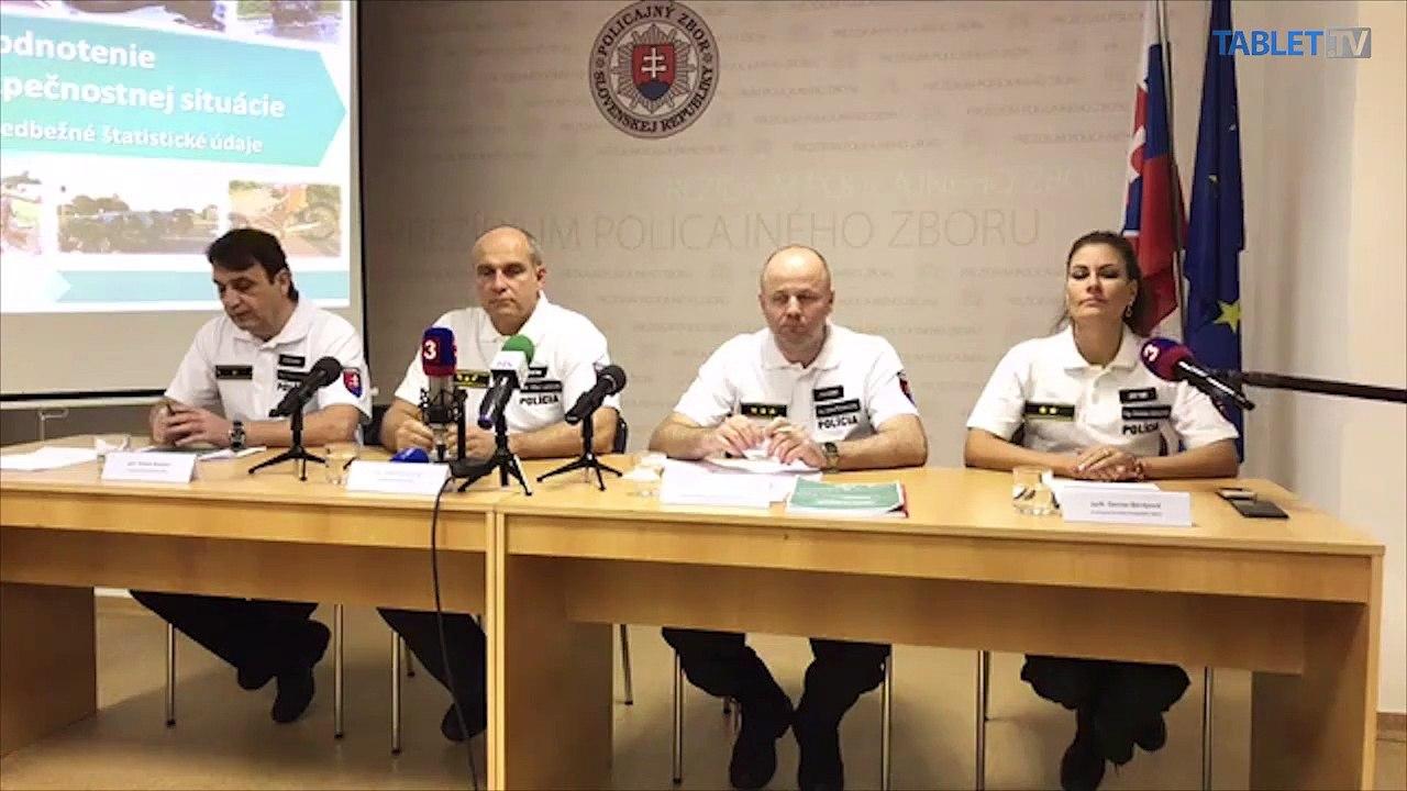 ZÁZNAM: TK Prezídia Policajného zboru