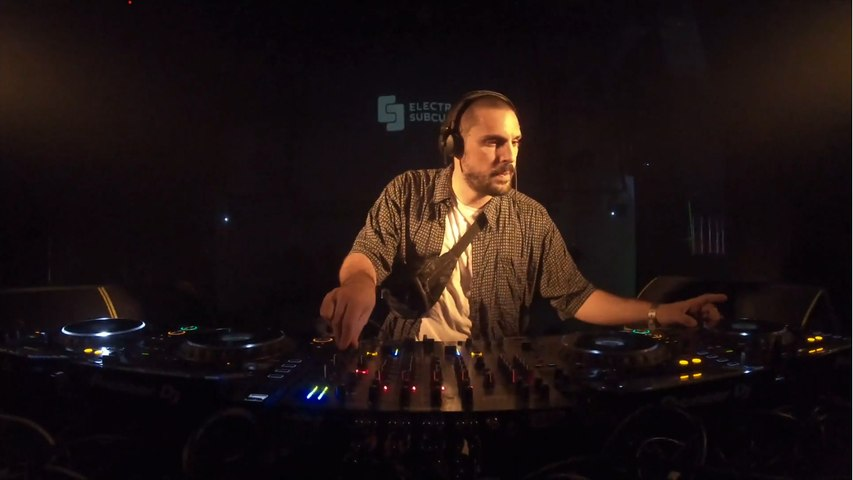 ABSL Live for Electronic Subculture @ Cabaret Aleatoire in Marseille, France.