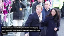"Prince Harry & Meghan Markle_are ""stepping back"" from Royal duties"