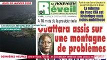 Le Titrologue du 09 janvier 2020 : À 10 mois de la présidentielle Ouattara, assis sur une montagne de problèmes