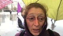 Manifestation contre la réforme des retraites. A Rennes, Roseline, infirmière à la retraite, témoigne