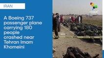 Ukrainian Passenger Plane Carrying 180 People Crashed