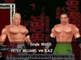 TNA Impact No Mercy Mod Matches Petey Williams vs Kaz