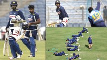 India vs Sri Lanka 3rd T20I : Sri Lankan Cricketers Gear Up Ahead Of 3rd T20I || Oneindia Telugu