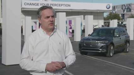 BMW at CES 2020 - Interview Olivier Pitrat