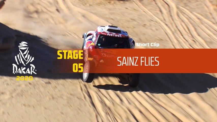 Dakar 2020 - Étape 5 / Stage 5 - Sainz flies