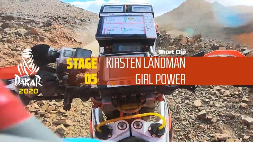 Dakar 2020 - Étape 5 / Stage 5 - Kirsten Landman - Girl Power