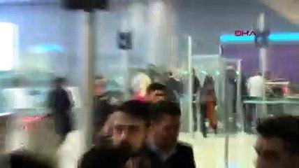 Güvenlik görevlisine hakaret ettiği iddia edilen Aleyna Tilki havalimanında ifade verdi