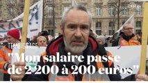 Conducteur de RER en grève contre la réforme des retraites, il tient une cagnotte de soutien
