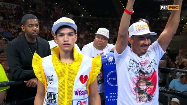 Figueroa vs Chacon - Watch Full Fight August 24, 2019