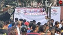 Bengaluru Jyoti Nivas students hold silent protestBengaluru Jyoti Nivas students hold silent protest