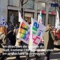 Mobilisation, incident… Les images de la manifestation contre la réforme des retraites