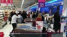 Hérault : une erreur de prix sème la pagaille dans un supermarché