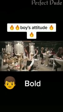 Attitude status for boys Perfect dude