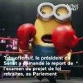 La conférence de presse très politique de Gérard Larcher