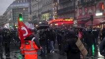 Fransa'da emeklilik reformu protestoları (5)