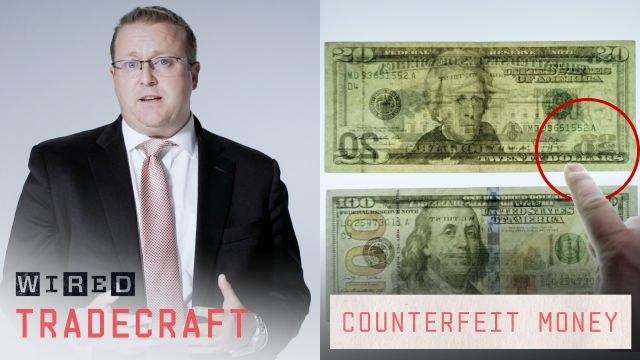 Former Secret Service Agent Explains How to Detect Counterfeit Money