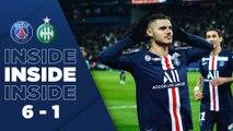 Inside: Paris Saint-Germain v Saint-Etienne