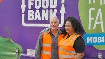 Lizzo Volunteers at Food Bank During Australian Tour