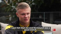 Bundesliga: Erling Haaland after his first training with Borussia Dortmund