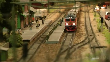 One of Sweden's finest and largest and most famous model railroad in HO scale - Video by Pilentum Television